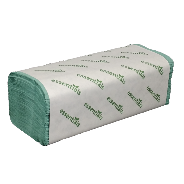 Essentials 1-ply V-Fold Hand Towels 5000
