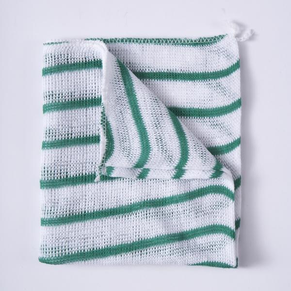 Stripy Dishcloths - Green