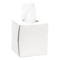 Facial Tissues Cubed
