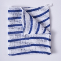 Stripy Dishcloths - Blue