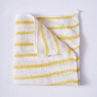 Stripy Dishcloths - Yellow