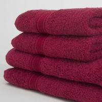 Elegance Hand Towel 480gsm Burgundy